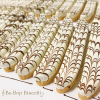 Made with fresh roasted hazelnuts, this dazzling biscotti is finished in a white and dark chocolate zebra icing.