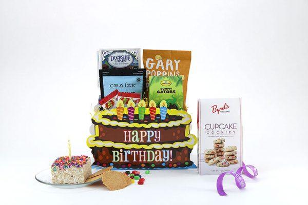 Birthday Bliss gift basket