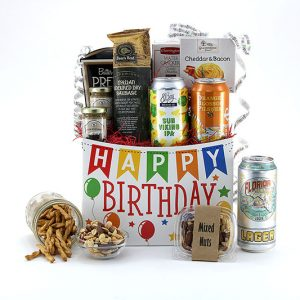 Birthday Brews gift basket
