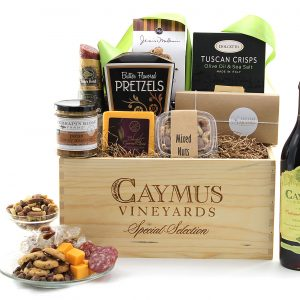 Classic Caymus gift baskets