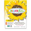 "Seed crisps in a snack size package. Made by ""Ella's Flats"" in Naples, Florida"