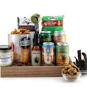 Florida Beer Sampler gift basket