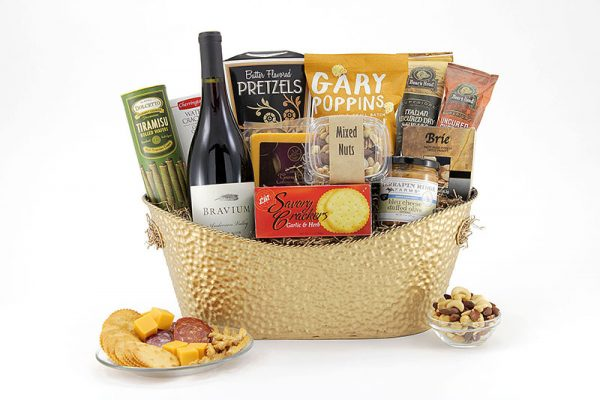 Gather With Wine gift basket