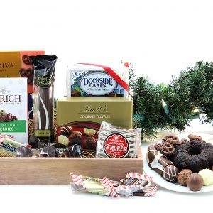 Chocolate Express Gift Basket