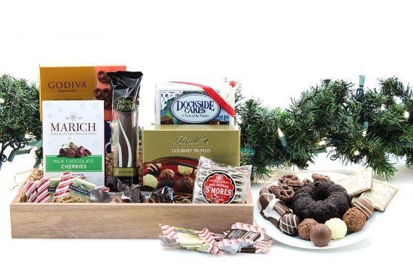 Chocolate Express Gift Basket