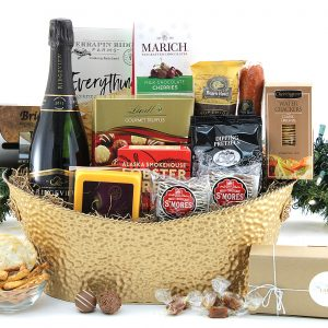 Dashing With Wine Gift Basket