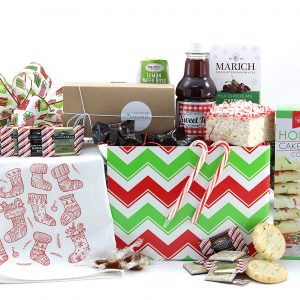 Frosty Sweets Gift Basket