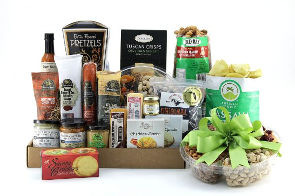 Party Tray gift basket