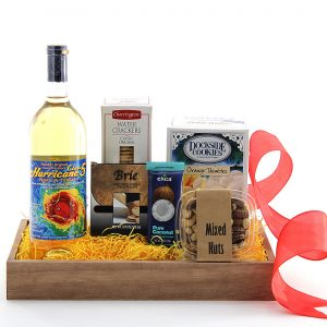 Shine With Wine Gift Basket