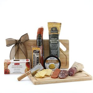 Small Bite Board gift basket