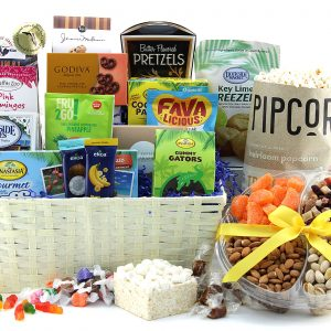 Snack Supreme gift basket