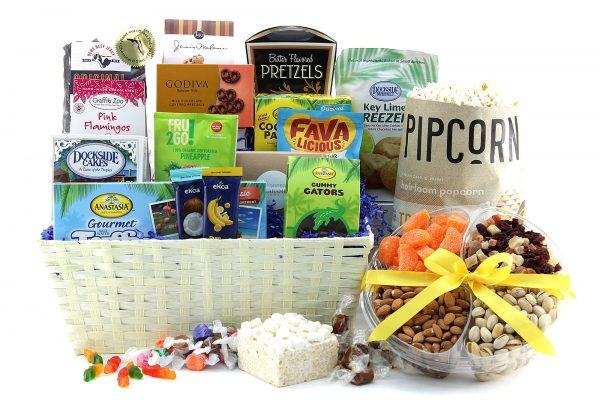 Snack Supreme gift basket