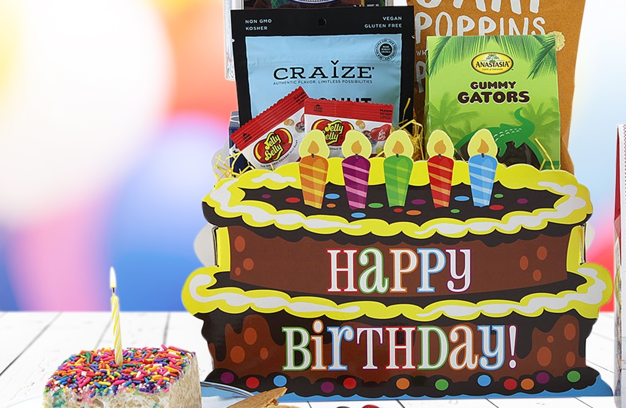 Birthday Basket Banner